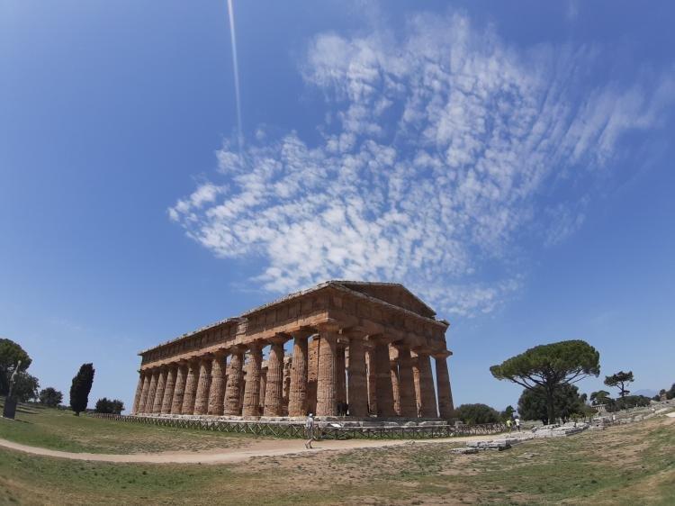 Tre templi di Paestum e museo con tomba Tuffatore