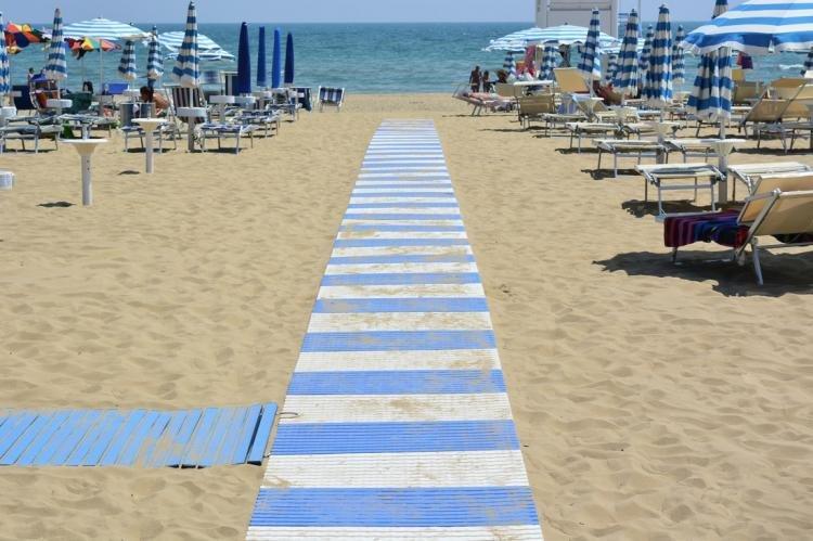 Lido delle Nazioni a Comacchio: spiaggia ed attrazioni principali