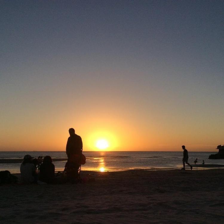 Il Rio de la Plata e i tramonti di Montevideo