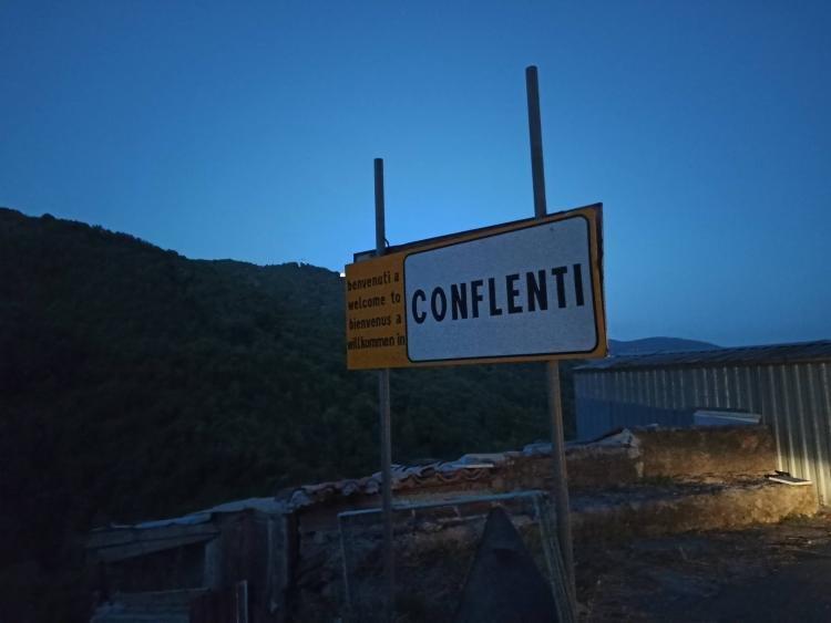 Il paesino di Conflenti e la Basilica minore