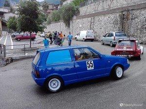 Slalom automobilistico organizzato dalla scuderia Testa Corse