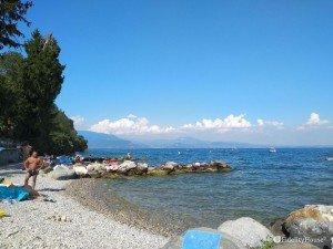 Spiaggia del porto di Dusano