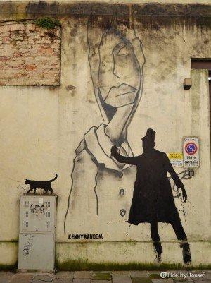 Murales di Kenny Random – Padova