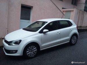 Volkswagen Polo 1.2 bianca del 2014