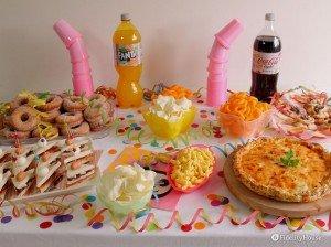 Un piccolo buffet di Carnevale