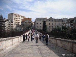 Il ponte dei cappuccini – Ragusa