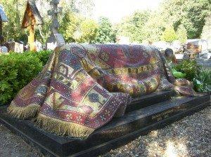 Tomba del grande Rudolf Nureyev