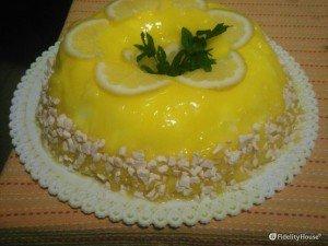 Semifreddo al limone e cioccolato bianca!