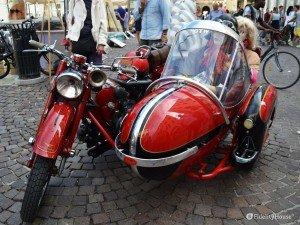 Sidecar della Moto Guzzi