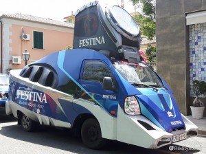 Sponsor Festina in veste futuristica per il Giro d'Italia 2016