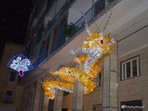 Luci d'Artista Salerno – Il dragone cinese