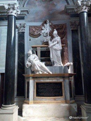 Tomba di Carlo Emanuele I di Savoia presso il Santuario di Vicoforte