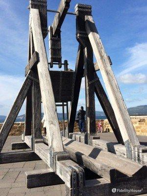 La catapulta, Alghero. Pezzi di storia