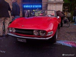 Fiat Dino con un rampante motore Ferrari
