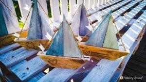 Fin che la barca va…riciclo creativo del legno