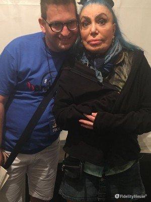 Io con Loredana Bertè!