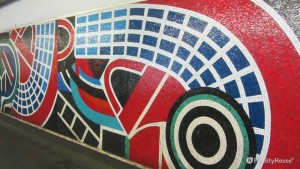 L'arte del mosaico nella metropolitana di Roma