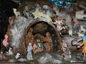 Un presepe tradizionale per celebrare il Natale