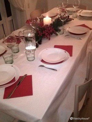 La nostra tavola di Natale in famiglia!