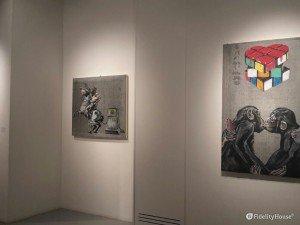 Esposizione di opere di Simone Fugazzotto