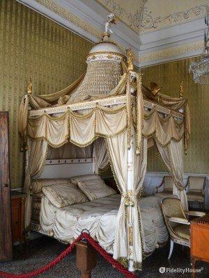 Letto di Napoleone a Villa Pisani, Stra VE