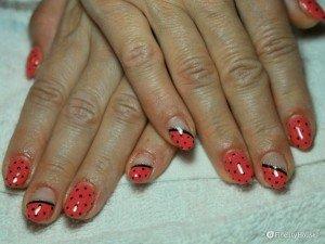 Idea nail art anni'50