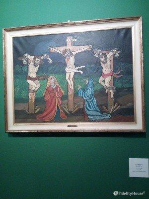 """""""Crocifissione"""" di Antonio Ligabue"""