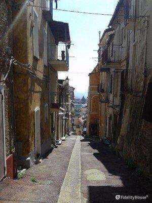 Vicolo rione S. Teodoro – Lamezia Terme