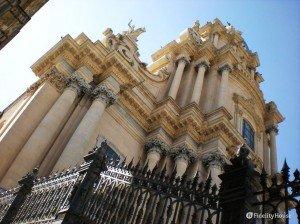 Scorcio del Duomo di San Giorgio a Ragusa Ibla