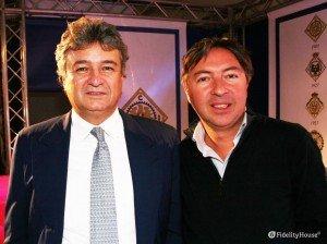 Fabrizio Giugiaro all'esposizione Auto e Moto d'Epoca