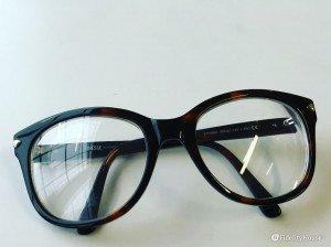 Occhiali da vista tartarugati con lenti enormi per l'estate 2016