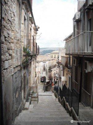 Le viuzze di Ragusa Ibla