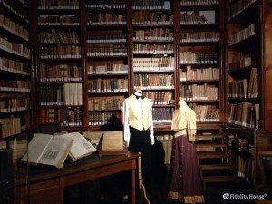 Biblioteca del castello di Donnafugata (Rg)