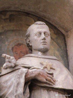 San Nicola da Tolentino, Chiesa degli Eremitani a Padova
