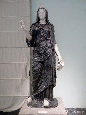 """Fortuna Iside dalla """"Collezione Farnese"""""""