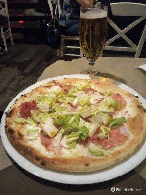 Pizza e birra