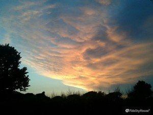Il cielo dopo un temporale
