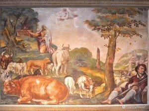 2. Gioacchino fra i pastori – Scuola della Carità, Padova