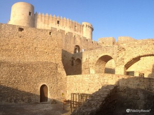 Veduta del castello di Santa Severina (KR)