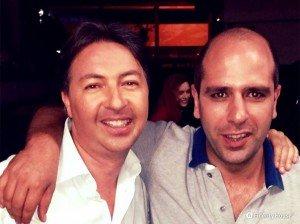Con Checco Zalone nel film