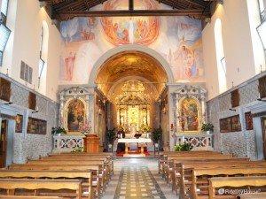 Interno del Santuario di Castelmonte (UD)