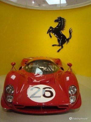 Ferrari al museo di Maranello