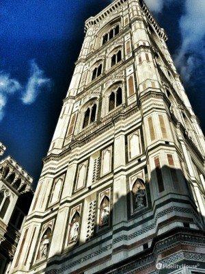 La vertigine del campanile di Giotto