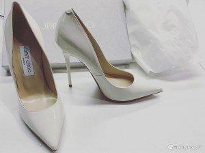 Scarpe da sposa col tacco collezione 2016 firmate Jimmy Choo
