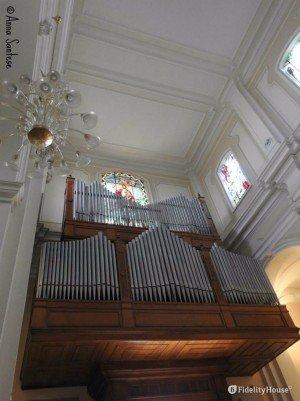 Organo presente nel Duomo di Brindisi