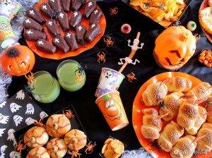 Buffet di Halloween: rosticceria, snack salati e dolcetti