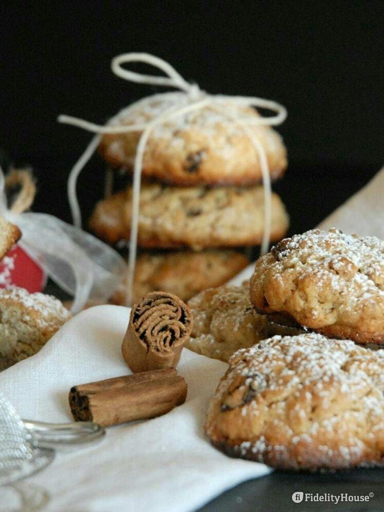 Cookies uvetta e cannella - Fidelity Foto
