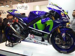 Yamaha M1 2015 di Valentino Rossi