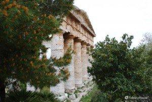 Lo splendore del tempio gresco di Segesta, in Sicilia
