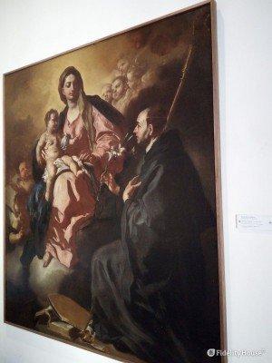 Madonna con Bambino e san Mauro Abate